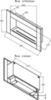 биокамин Silver Smith GALANT 800 чертеж схема