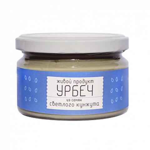 Урбеч из семян белого кунжута, 225 гр. (Живой продукт)