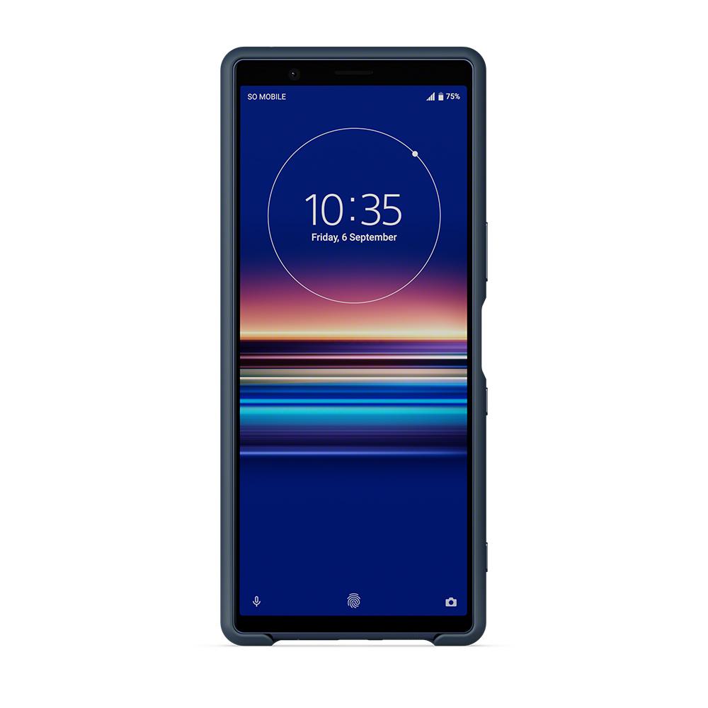 SCBJ10AM/L чехол синего цвета для Xperia 5 купить в Sony Centre Воронеж