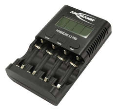 Профессиональное зарядное устройство ANSMANN POWERLINE 4.2 PRO (АА ААА USB)