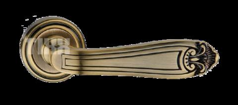 Фурнитура TIXX ручка дверная Корсо, цвет бронза античная