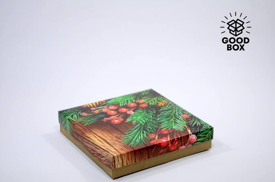 Рябина подарочная новогодняя коробка