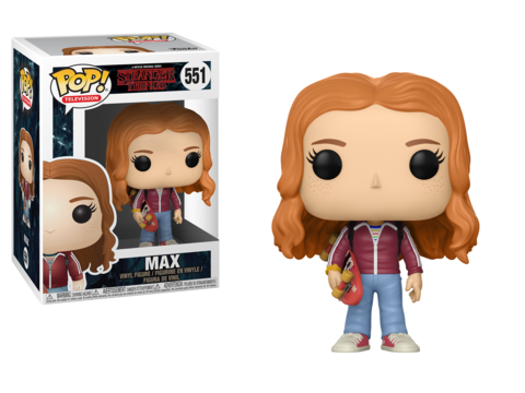Фигурка Funko POP! Vinyl: Stranger Things: Max w/ Skate Deck 22569