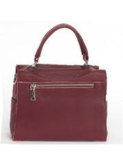 Бордовая сумка с дополнительным ремешком