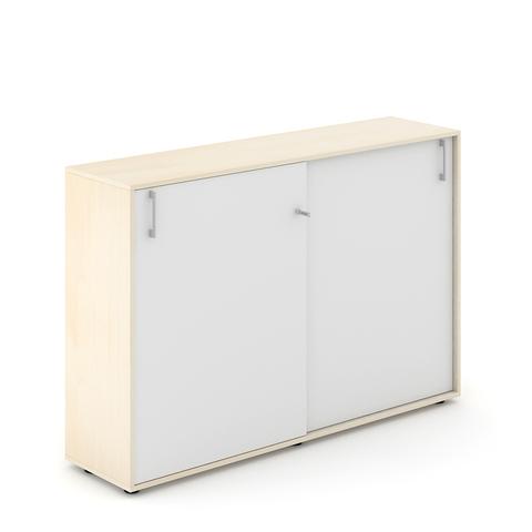 Шкаф со слайдинг дверями средний