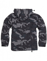 Куртка SURPLUS WINDBREAKER, Black Camo, новая
