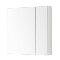 Зеркальный шкаф Aquaton Беверли 80 белый 1A237102BV010