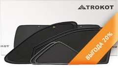 Каркасные автошторки на магнитах для Geely Emgrand X7 (2011+) Кроссовер. Полный комплект из 7 экранов