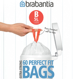Пакет пластиковый, 5л 60шт, артикул 348969, производитель - Brabantia