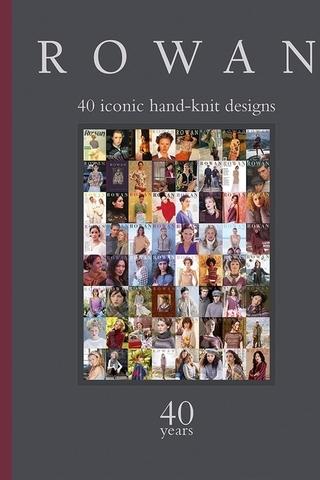 Книга 40 Years Rowan