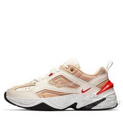 Nike M2K Tekno White Gold Red