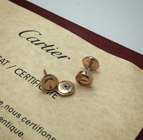 Серьги Cartier