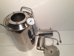 Самогонный аппарат «Премиум2», с термометром и расширенной горловиной, 15 л, фото 13