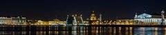 Фартук Петербург ночной