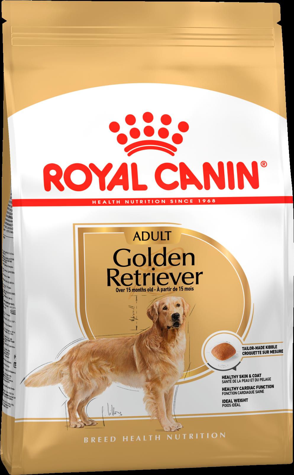 Royal Canin Корм для взрослых собак породы голден ретривер, Royal Canin Golden Retriever Adult 369030.png