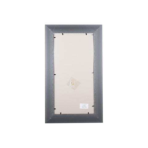 Фоторамка Ампир (с паспарту) 20х40 Формат-А (серебро) (3 паспарту 10x15)