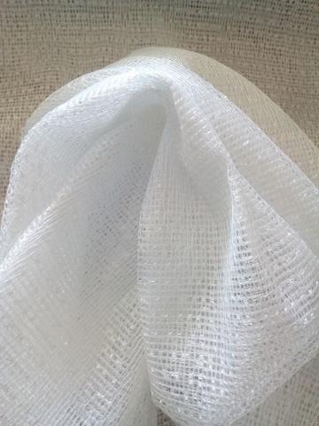 Ткань сетка - Белая. Арт. W2009 C1