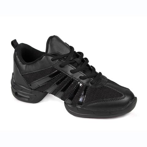 Кроссовки для танцев с лаковыми полосками