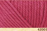 Пряжа FibraNatura Lima 42001 малина