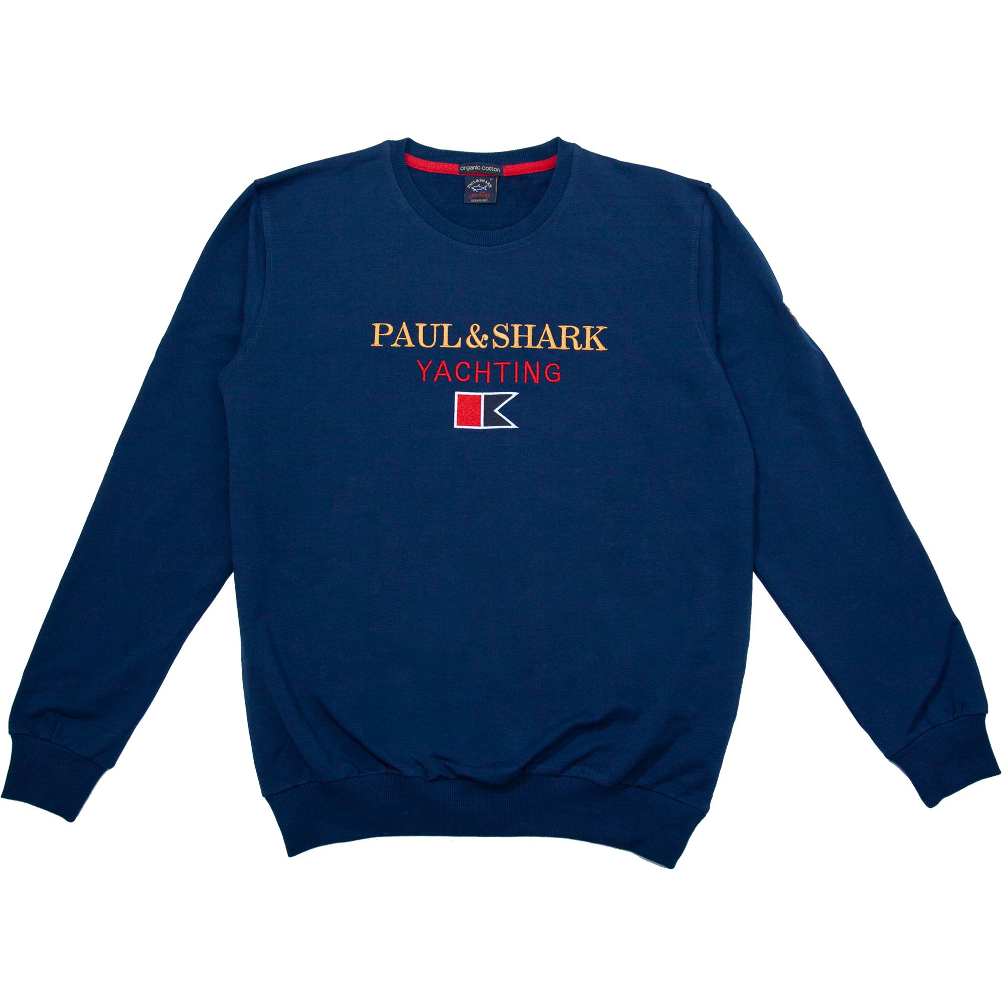 """Мужские спортивные кофты Толстовка """"Paul And Shark"""" 66901 Blue 5.png"""