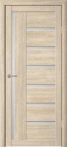 Дверь ALBERO Мадрид (лиственница мокко, остекленная экошпон), фабрика Фрегат