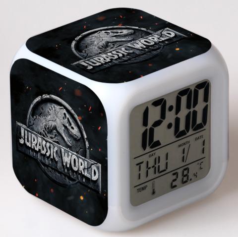 Будильник Led Jurassic World