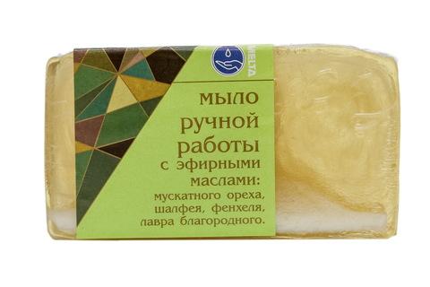 Melta Мыло ручной работы с эфирными маслами Пряное 100гр