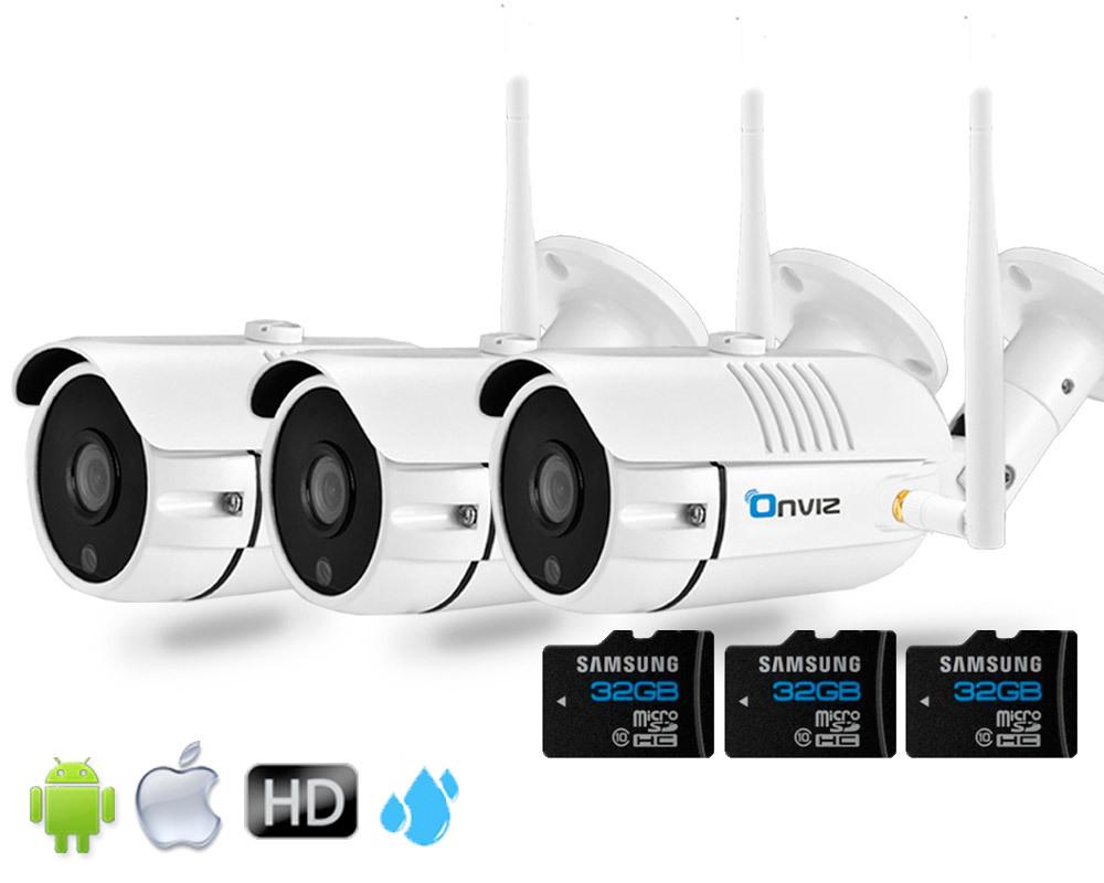 Комплекты видеонаблюдения (IP Wi-Fi камеры 2020 года) Комплект из 3-х Уличных Wi-Fi  камер глав3.jpg