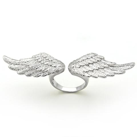 Кольцо Крылья (серебряные)
