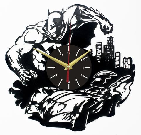 Бэтмен Часы из Пластинки — Бэтмобиль