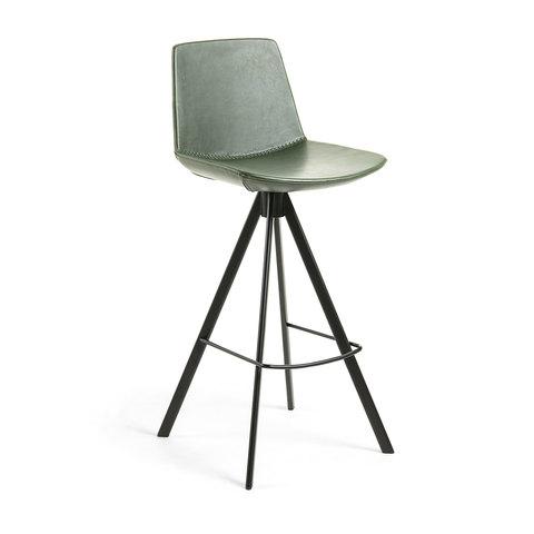 Барный стул Zast зеленый