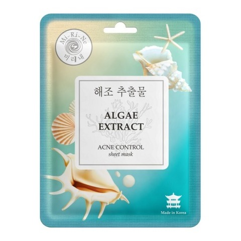 Mi-Ri-Ne Тканевая маска для лица Очищающая Algae Extract 23г