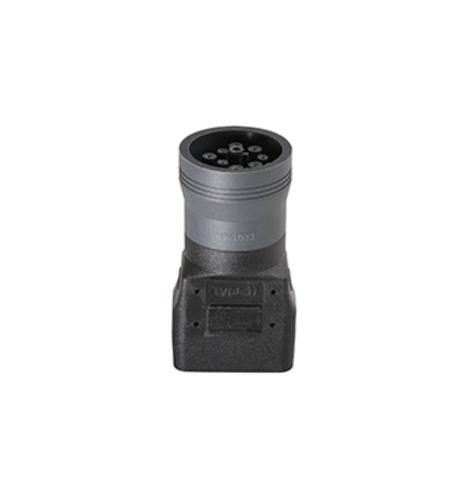 Кабель диагностический OBD-DEUTSCH 9 pin адаптер 3905786, ТЕХА (Италия)