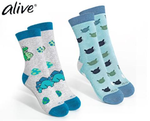 Носки с силиконовой подошвой с черепахой Alive