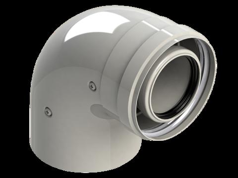 Колено для конденсационных котлов диам. 60/100 MF 90 - RoyalThermo