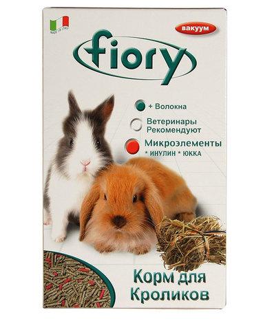 FIORY корм для кроликов Pellettato гранулированный 850 г