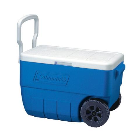 Изотермический контейнер (термобокс) Coleman 50 Qt (48 л.), синий
