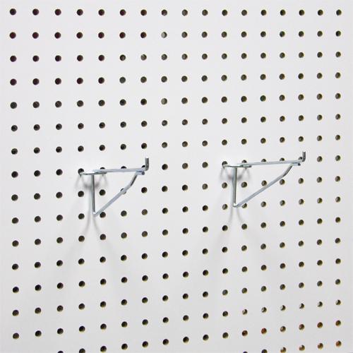 Полочные кронштейны на перфорированную панель из ХДФ PH817