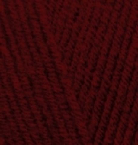 Пряжа Alize Lanagold 538 винный