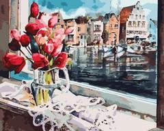 Голландский натюрморт- раскраски по номерам