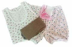 Комплект женского белья (4 предмета)