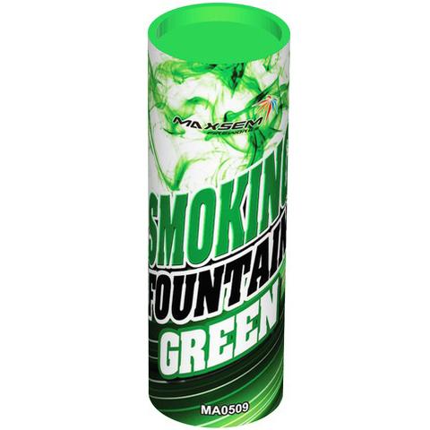 Дымовой фонтан зеленый МА0509/G Maxsem