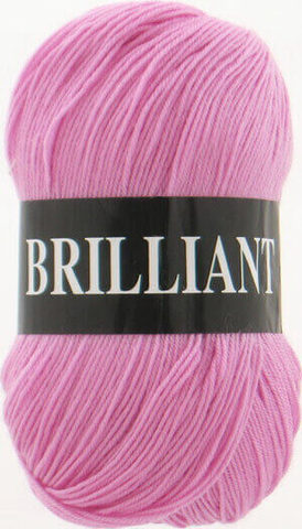 Пряжа Brilliant Vita 4956 розовый фото