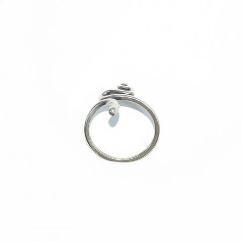 Snake Ring, Sterling Silver