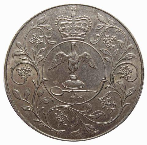 25 новых пенсов 1977 Великобритания (25 лет правления Елизаветы II) VF-XF