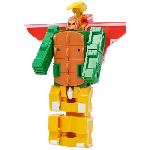 Аэробот: трансботы Lingvo Zoo 1 Toy (буквы английские E F G)