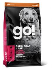 Корм для щенков и собак, GO! SKIN + COAT Lamb Meal Recipe DF, со свежим ягненком