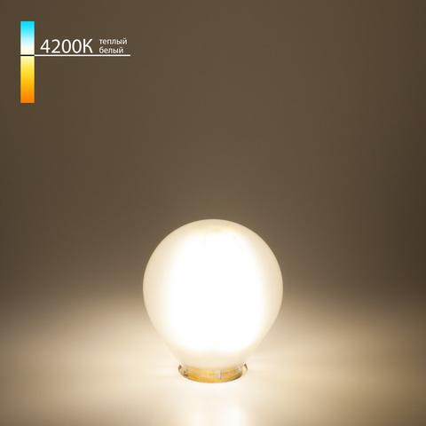 Филаментная светодиодная лампа G45 6W 4200K E14 Classic F 6W 4200K E14