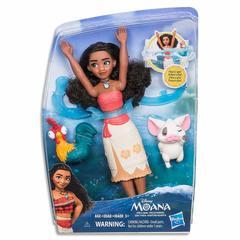 Моана и её друзья, игры с водой