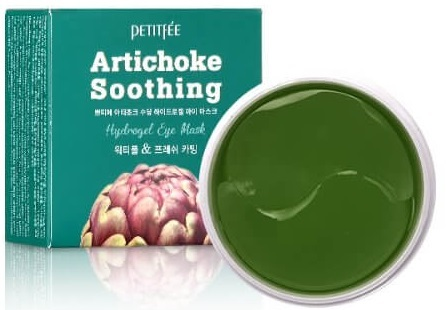 Petitfee Artichoke Soothing Hydrogel Eye Mask патчи для глаз
